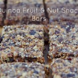 Quinoa Fruit and Nut Snack Bars