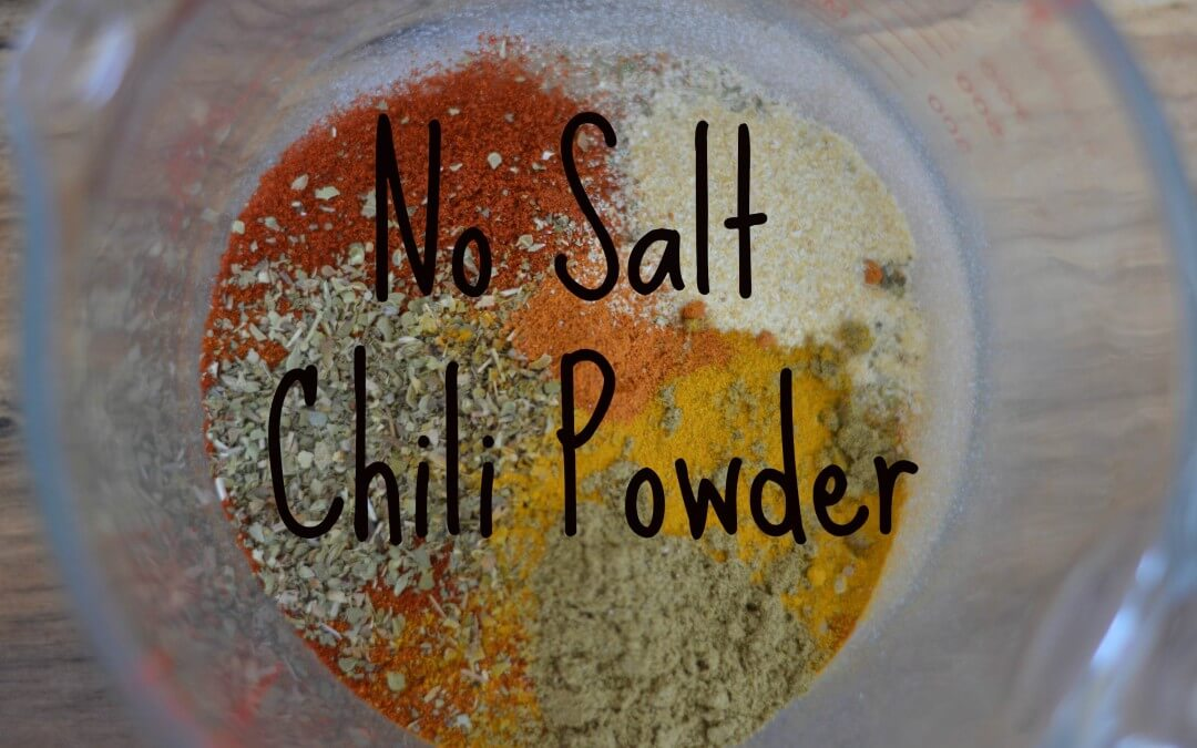 No Salt Chili Powder
