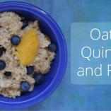 Oats, Quinoa and Fruit